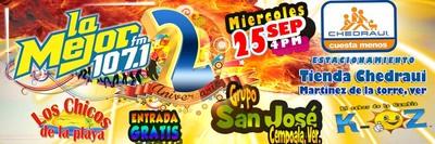 GRAN SEGUNDO ANIVERSARIO DE LA MEJOR DE TLAPACOYAN 107.1 FM  | LA MEJOR